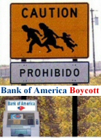 Bank of America Boycott